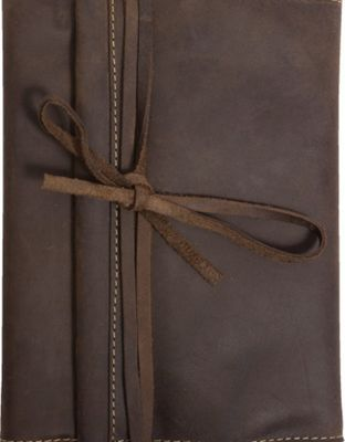 Canyon Outback Redwood Leather Journal Distressed Brown - Canyon Outback Business Accessories