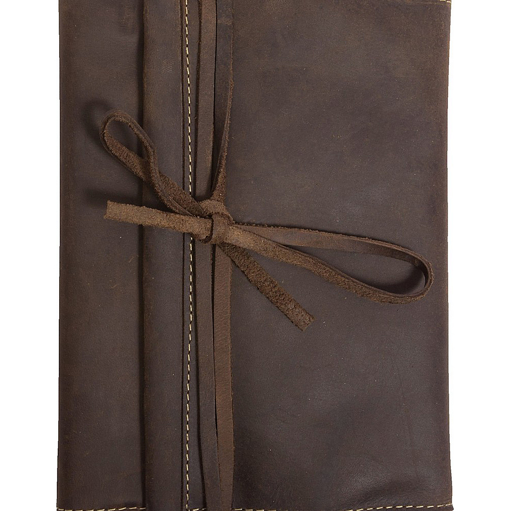 Canyon Outback Redwood Leather Journal Distressed Brown Canyon Outback Business Accessories
