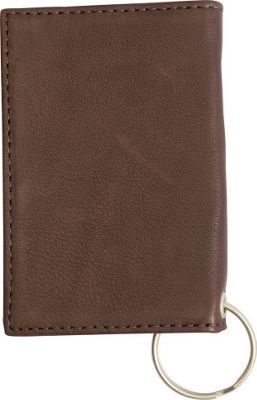 Canyon Outback Leather Arrow Canyon ID Holder KeyChain Wallet Brown - Canyon Outback Mens Wallets