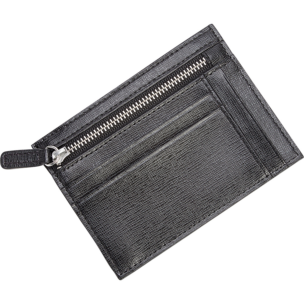 Royce Leather RFID Blocking Slim Card Case Wallet Black - Royce Leather Mens Wallets - Work Bags & Briefcases, Men's Wallets