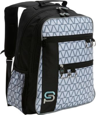 Sydney Paige Buy One/Give One Raleigh Laptop Backpack Silver Lining - Sydney Paige Business & Laptop Backpacks