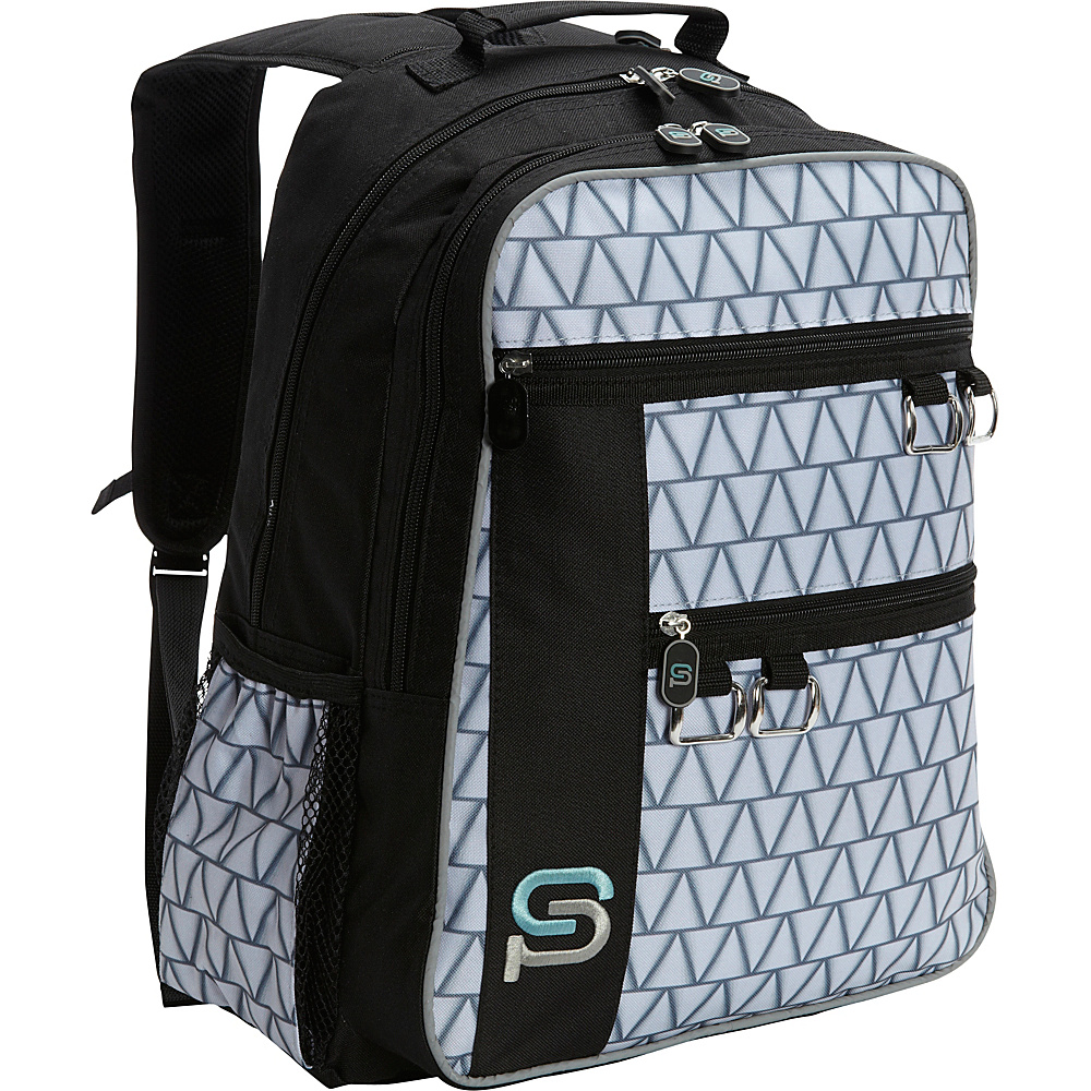 Sydney Paige Buy One Give One Raleigh Laptop Backpack Silver Lining Sydney Paige Business Laptop Backpacks