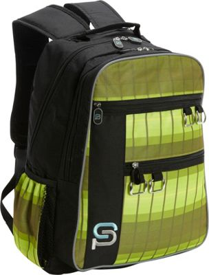 Sydney Paige Buy One/Give One Raleigh Laptop Backpack Olive Branch - Sydney Paige Business & Laptop Backpacks