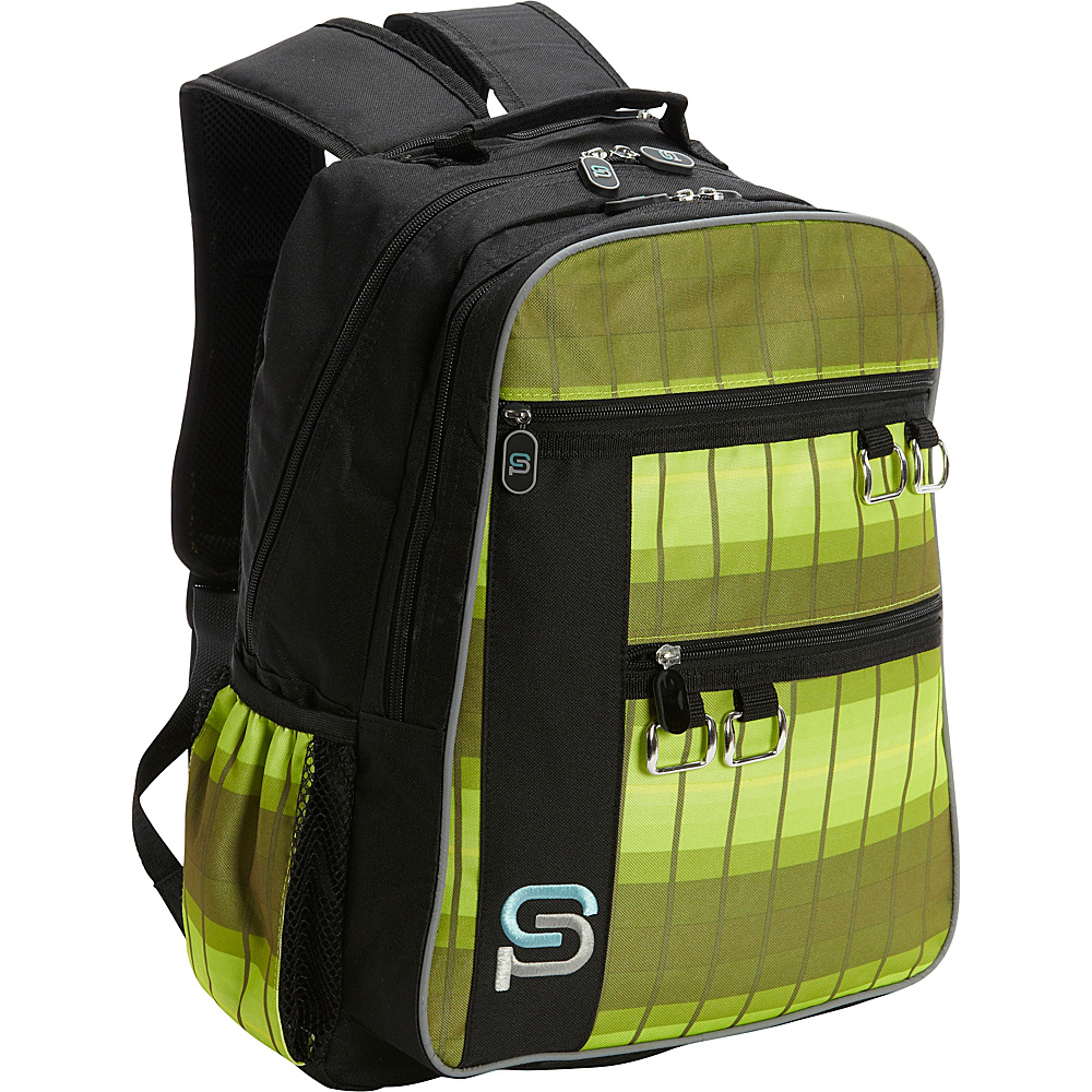 Sydney Paige Buy One Give One Raleigh Laptop Backpack Olive Branch Sydney Paige Business Laptop Backpacks