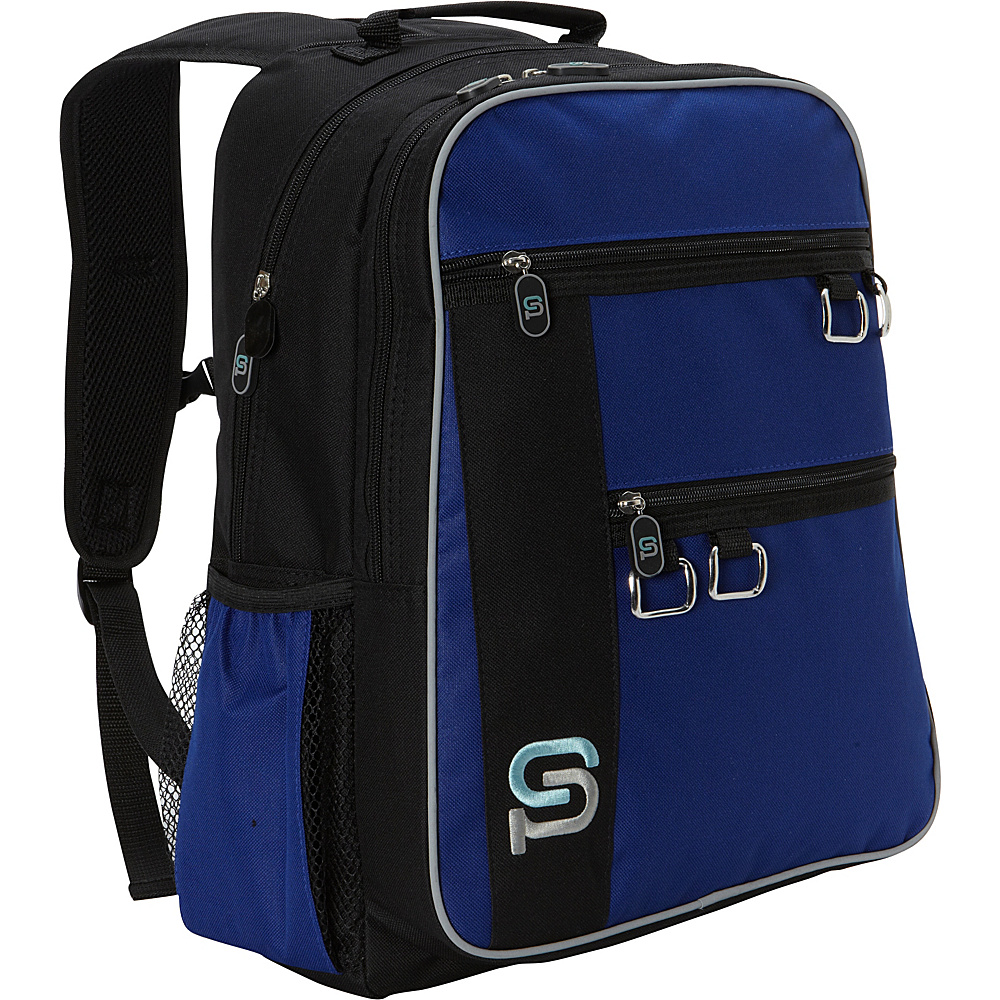 Sydney Paige Buy One Give One Raleigh Laptop Backpack Royal Blue Sydney Paige Business Laptop Backpacks