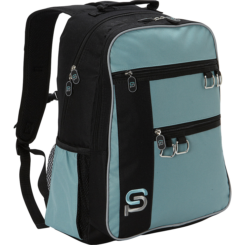 Sydney Paige Buy One Give One Raleigh Laptop Backpack Turquoise Sydney Paige Business Laptop Backpacks
