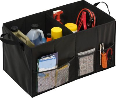 Honey-Can-Do Honey-Can-Do Folding Trunk Organizers Black - Honey-Can-Do Trunk and Transport Organization