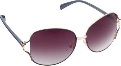 Circus by Sam Edelman Sunglasses Oversized Oval Sunglasses Rose Gold/Grey - Circus by Sam Edelman Sunglasses Sunglasses