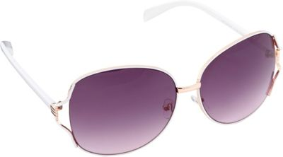 Circus by Sam Edelman Sunglasses Oversized Oval Sunglasses Rose Gold/White - Circus by Sam Edelman Sunglasses Sunglasses