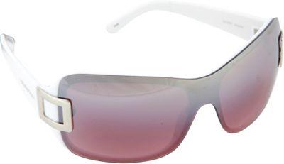 SouthPole Eyewear Shield Sunglasses White - SouthPole Eyewear Sunglasses