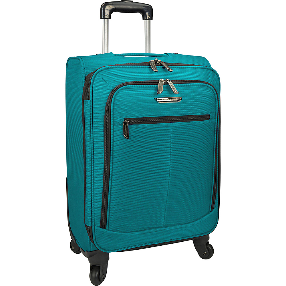 Traveler s Choice Merced Lightweight 22 Spinner Luggage Green Traveler s Choice Softside Carry On