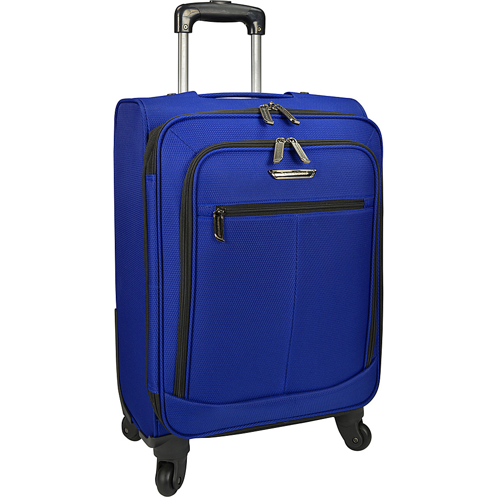 Traveler s Choice Merced Lightweight 22 Spinner Luggage Cobalt Blue G Traveler s Choice Softside Carry On