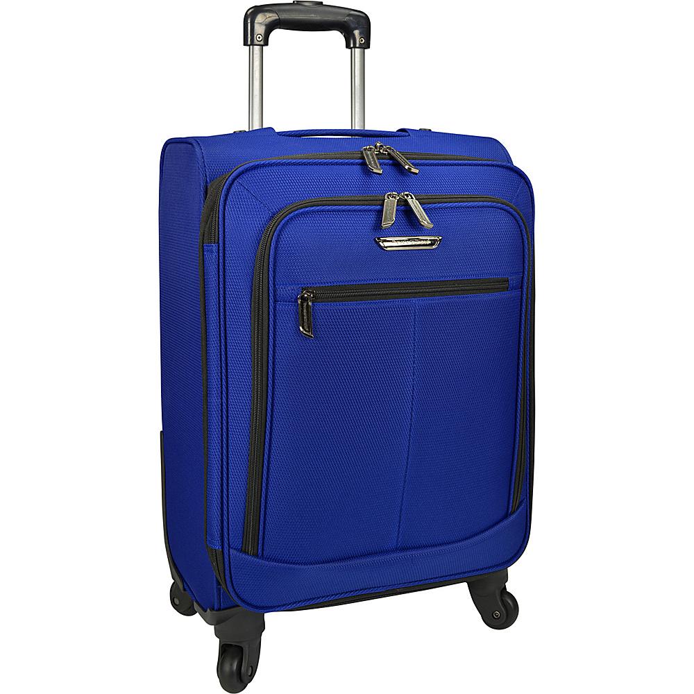 Traveler s Choice Merced Lightweight 22 Spinner Luggage Cobalt Blue G Traveler s Choice Softside Carry On