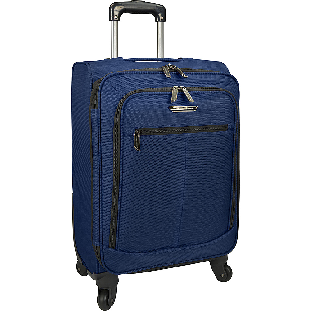 Traveler s Choice Merced Lightweight 22 Spinner Luggage Navy Traveler s Choice Softside Carry On