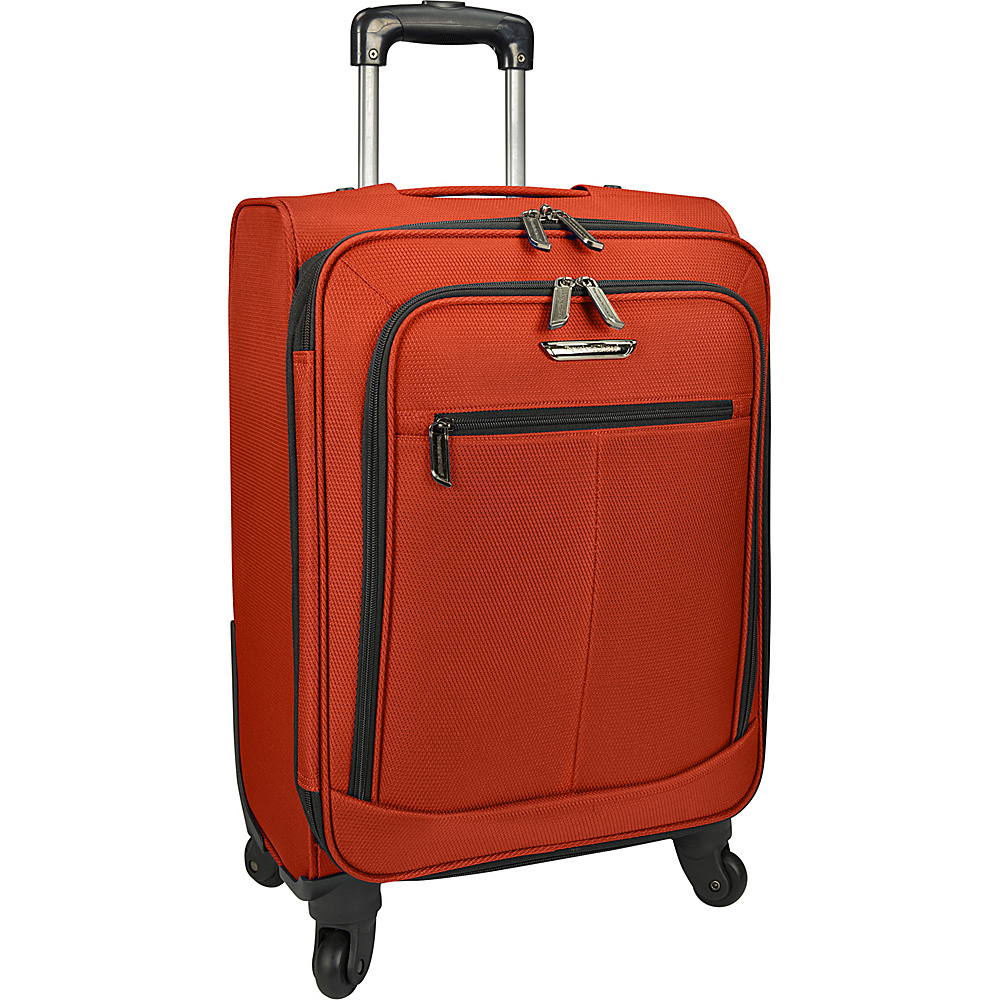 Traveler s Choice Merced Lightweight 22 Spinner Luggage Orange Traveler s Choice Softside Carry On