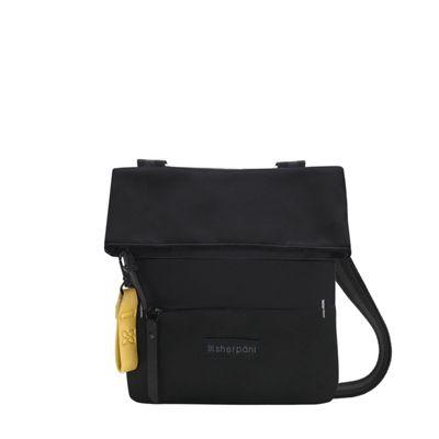 Sherpani Pica Recycled Small Everyday Small Crossbody Raven - Sherpani Fabric Handbags