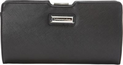 Catherine Malandrino Bibi Clutch Black - Catherine Malandrino Manmade Handbags