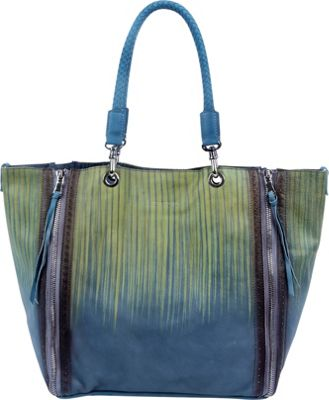 Old Trend Barracuda Tote Bamboo-Leaf Drift - Old Trend Leather Handbags