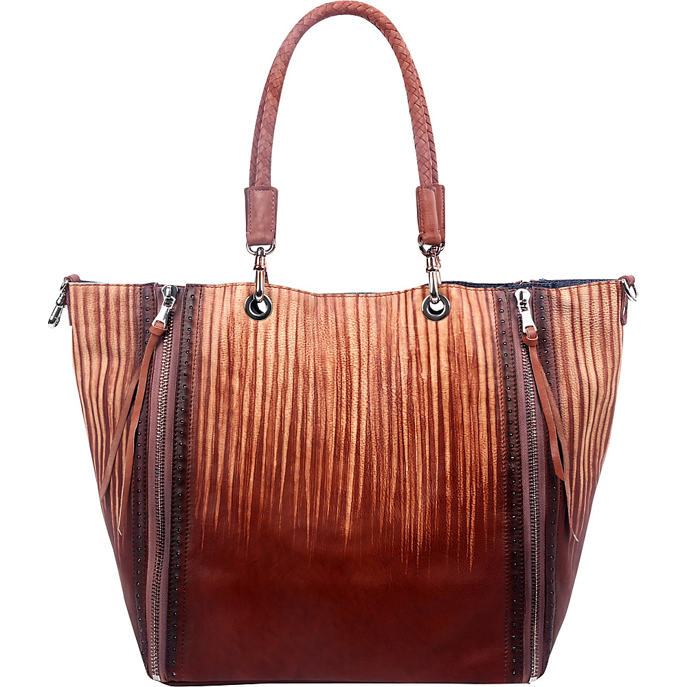 Old Trend Barracuda Tote Salt Coffee Drift Old Trend Leather Handbags
