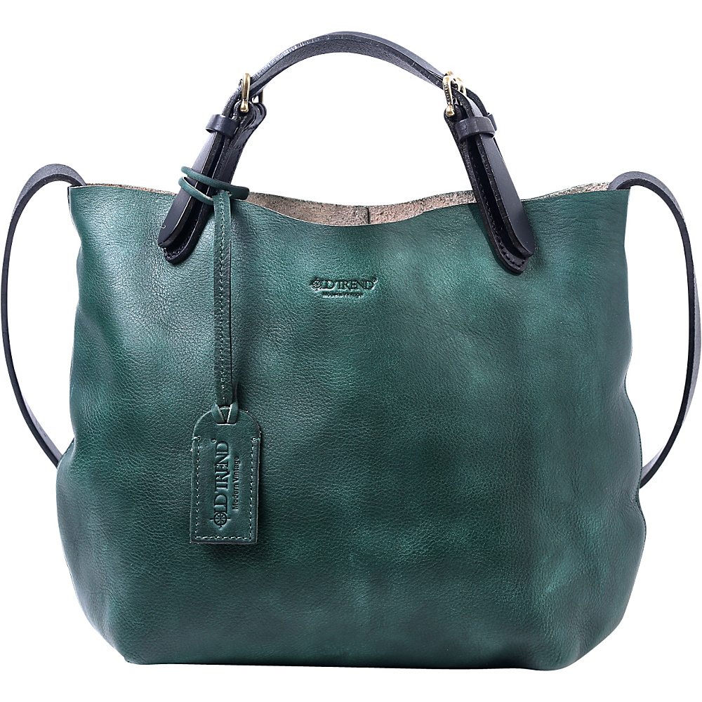 Old Trend Mini Tote Vintage Green - Old Trend Leather Handbags