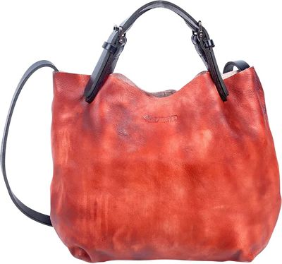 Old Trend Mini Tote Cognac - Old Trend Leather Handbags