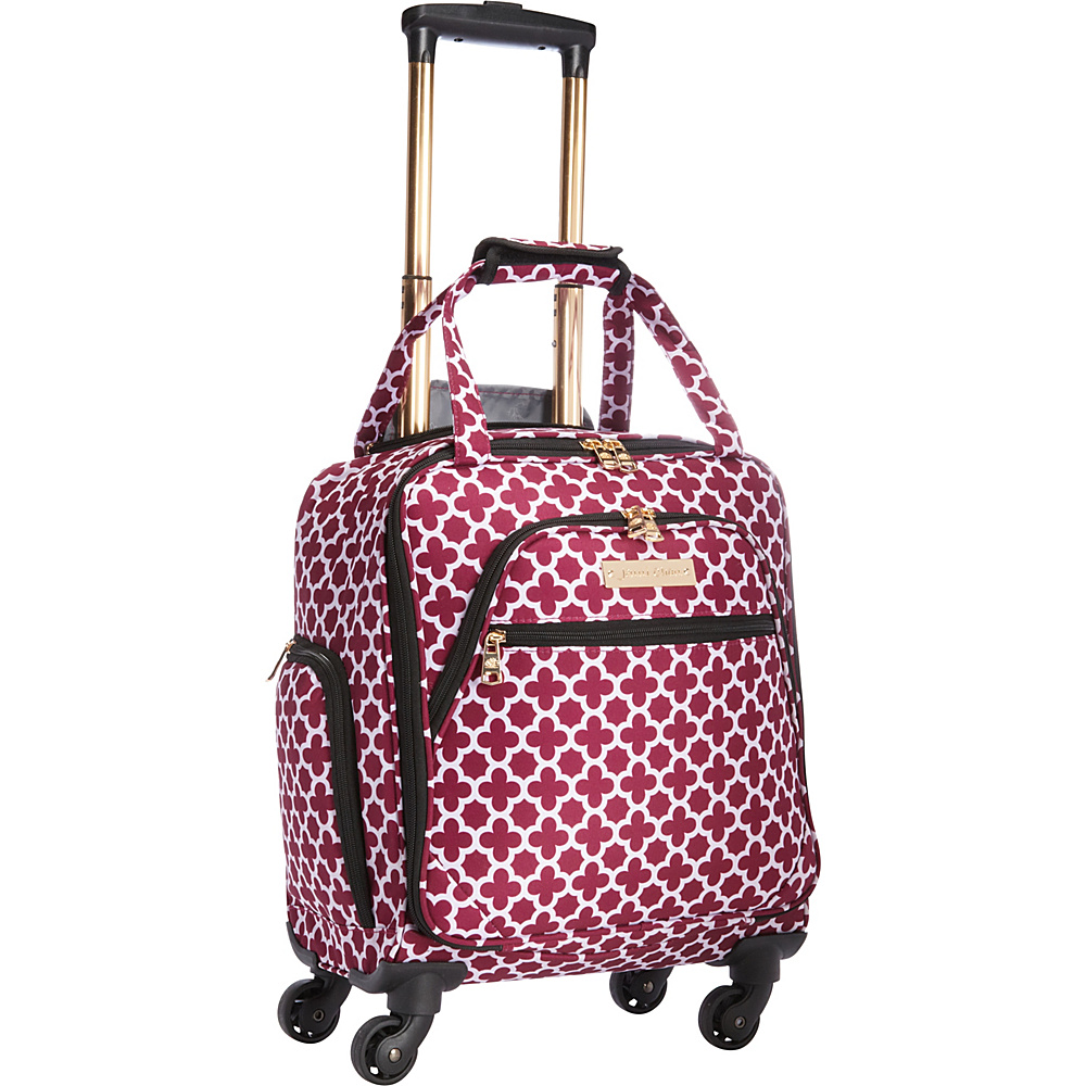 Jenni Chan Aria Broadway 15 Spinner Tote Cranberry Jenni Chan Softside Carry On