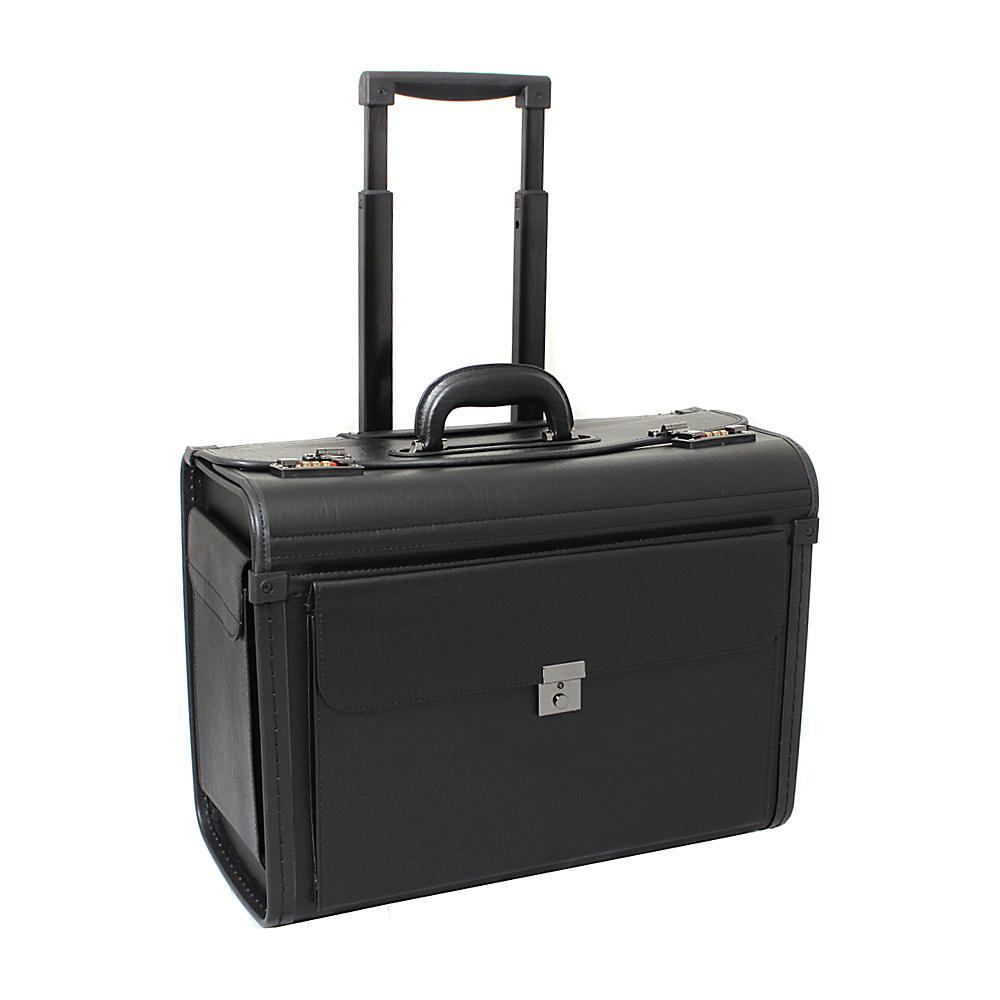 World Traveler Deluxe Rolling Sample Catalog Pilot Case Black - World Traveler Wheeled Business Cases - Work Bags & Briefcases, Wheeled Business Cases