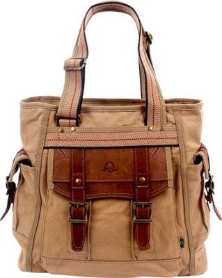 TSD Turtle Ridge Tote Camel - TSD Fabric Handbags