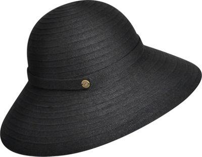 Karen Kane Hats Lux Braid Wide Brim Floppy Hat Black - Karen Kane Hats Hats/Gloves/Scarves