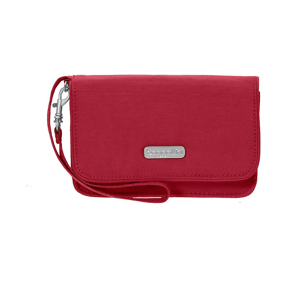baggallini RFID Flap Wristlet Apple - baggallini Fabric Handbags - Handbags, Fabric Handbags