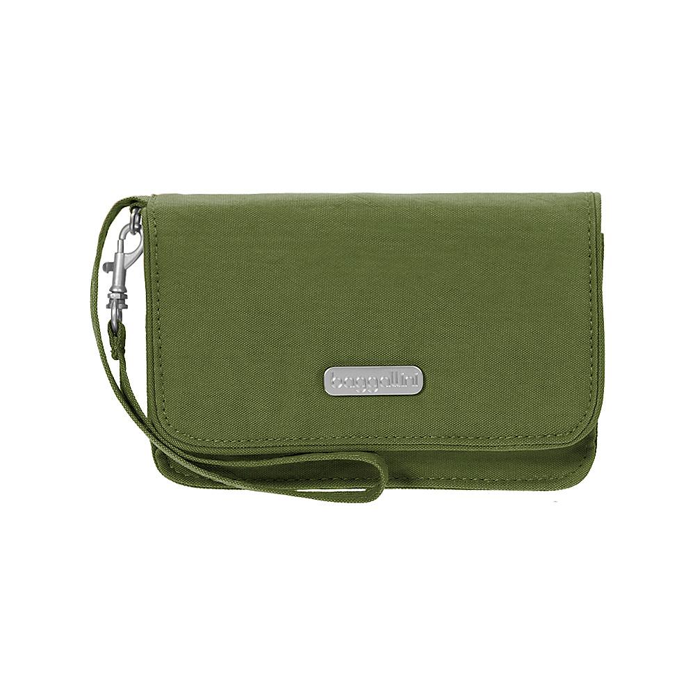 baggallini RFID Flap Wristlet Moss - baggallini Fabric Handbags - Handbags, Fabric Handbags