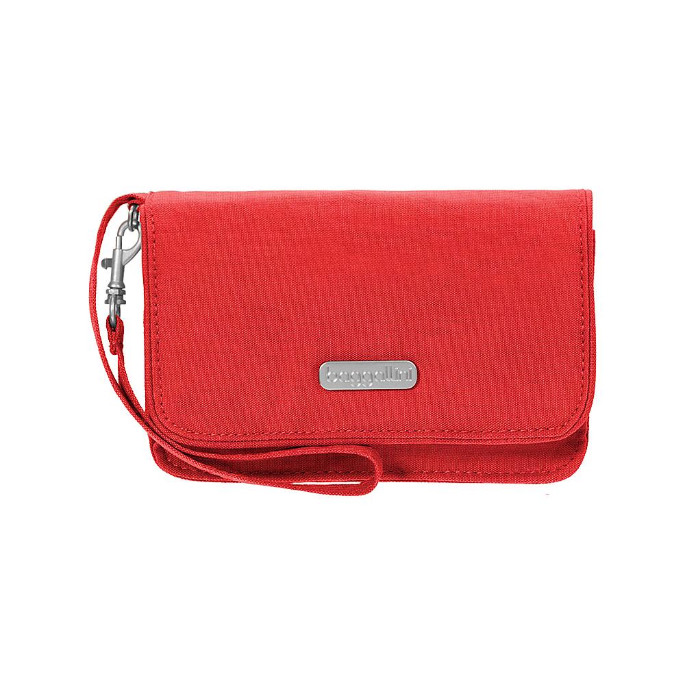 baggallini RFID Flap Wristlet Hibiscus - baggallini Fabric Handbags - Handbags, Fabric Handbags