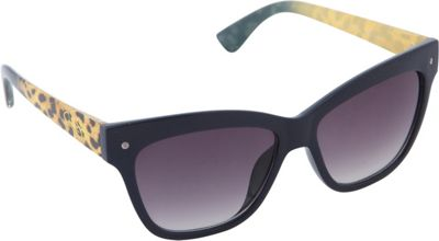 Jessica Simpson Sunwear Animal Print Cat Eye Sunglasses Blue Animal - Jessica Simpson Sunwear Sunglasses