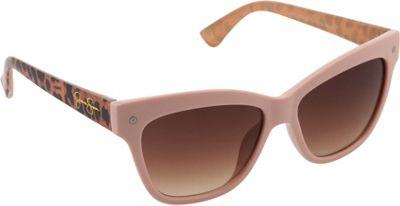 Jessica Simpson Sunwear Animal Print Cat Eye Sunglasses Rose Animal - Jessica Simpson Sunwear Sunglasses