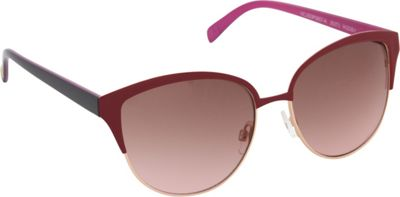 Jessica Simpson Sunwear Cat Eye Sunglasses Rose Gold Berry - Jessica Simpson Sunwear Sunglasses