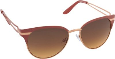 Jessica Simpson Sunwear Cat Eye Sunglasses Coral - Jessica Simpson Sunwear Sunglasses