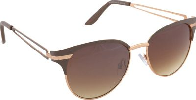 Jessica Simpson Sunwear Cat Eye Sunglasses Nude - Jessica Simpson Sunwear Sunglasses