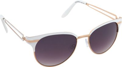 Jessica Simpson Sunwear Cat Eye Sunglasses White - Jessica Simpson Sunwear Sunglasses