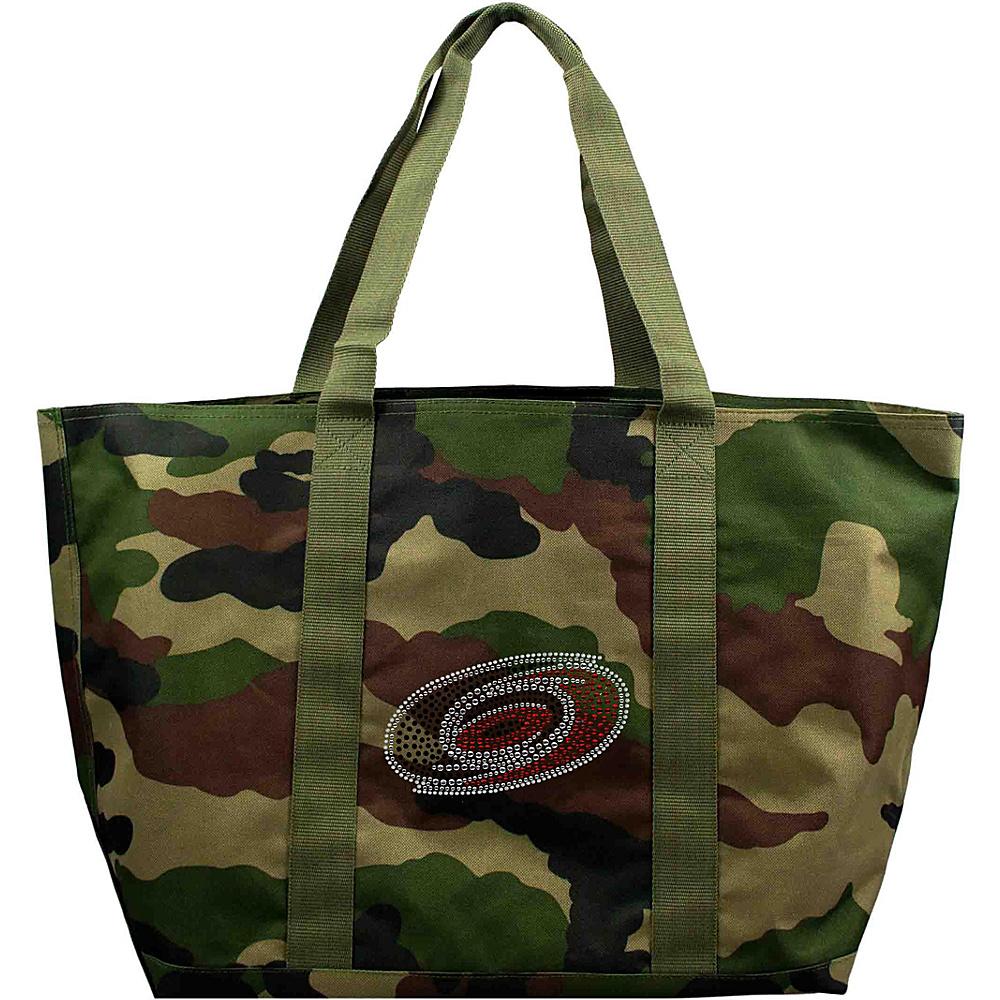 Littlearth Camo Tote - NHL Teams Carolina Hurricanes - Littlearth Fabric Handbags - Handbags, Fabric Handbags