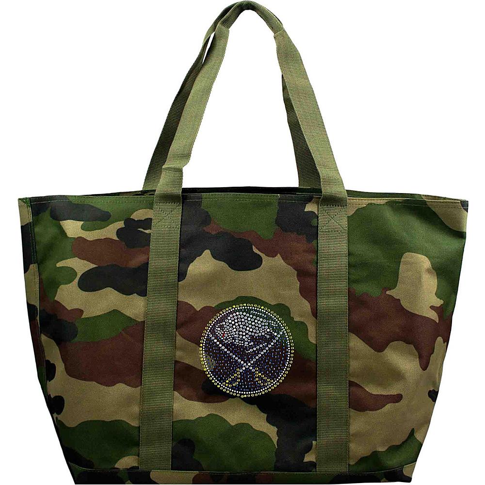 Littlearth Camo Tote - NHL Teams Buffalo Sabres - Littlearth Fabric Handbags - Handbags, Fabric Handbags