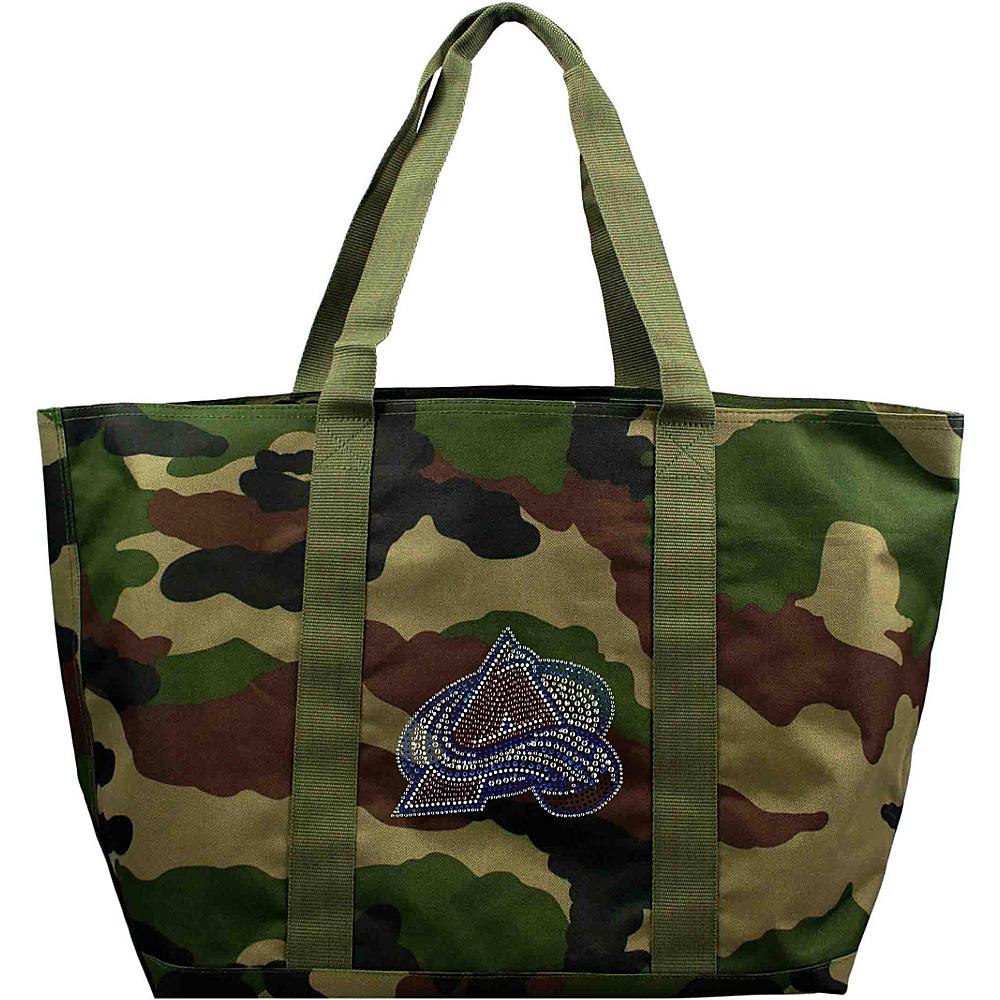 Littlearth Camo Tote - NHL Teams Colorado Avalanche - Littlearth Fabric Handbags - Handbags, Fabric Handbags