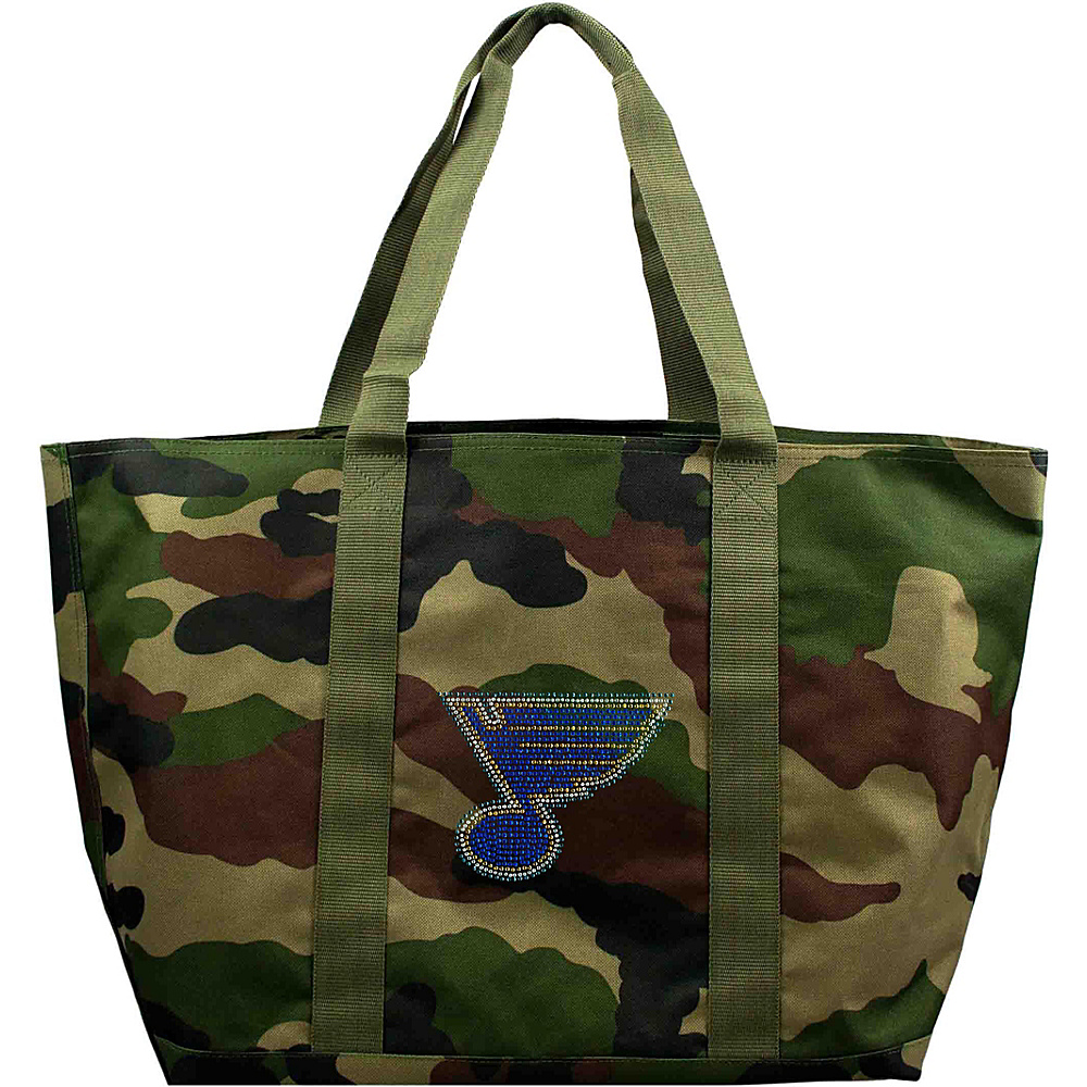 Littlearth Camo Tote - NHL Teams St. Louis Blues - Littlearth Fabric Handbags - Handbags, Fabric Handbags
