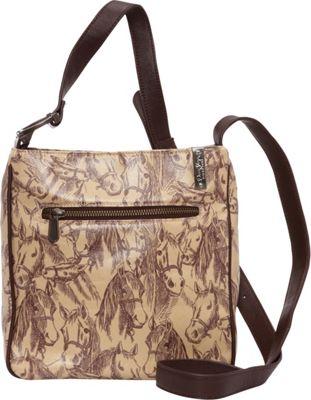 Donna Sharp Hipster Expandable Crossbody - Exclusive Thoroughbred - Donna Sharp Fabric Handbags