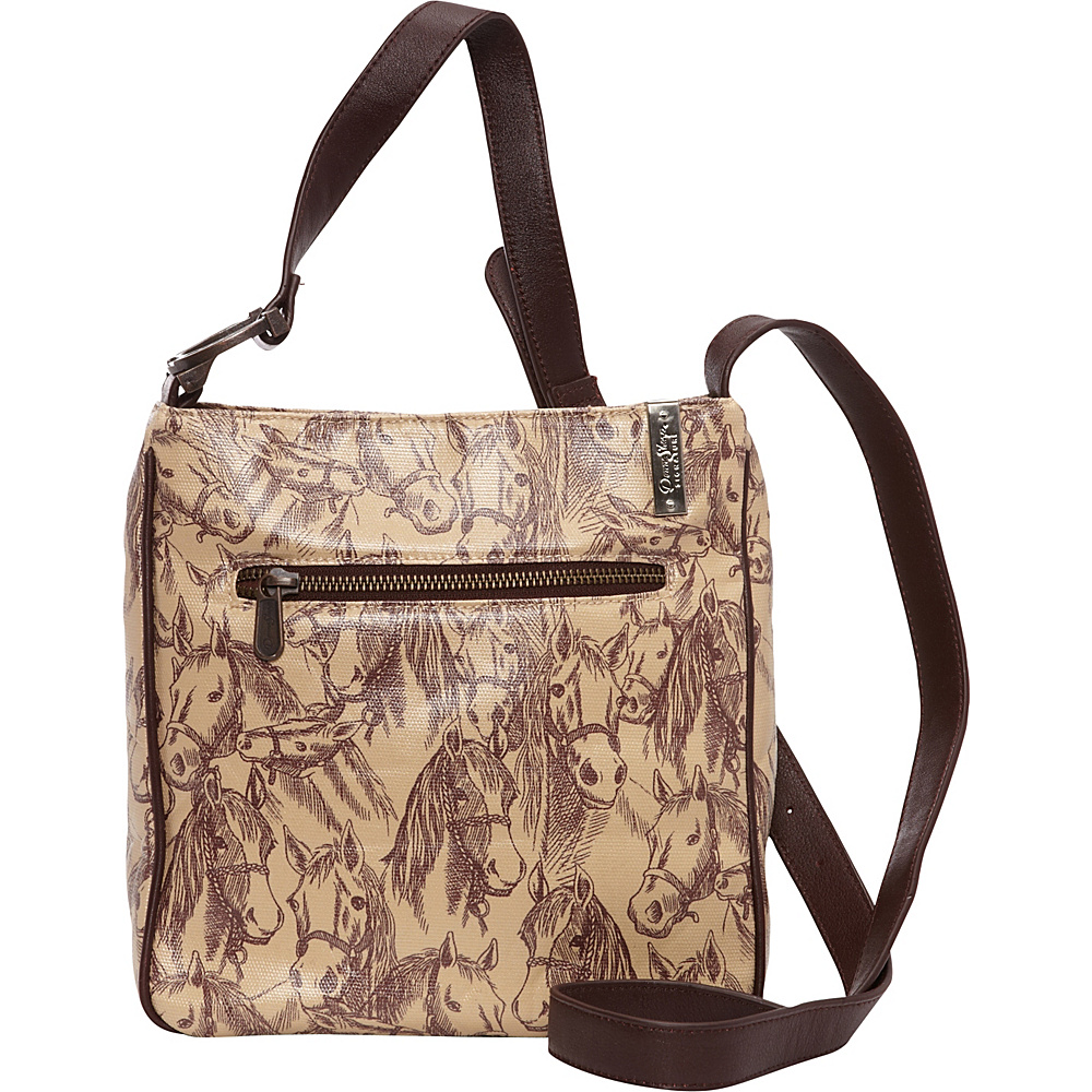 Donna Sharp Hipster Expandable Crossbody Exclusive Thoroughbred Donna Sharp Fabric Handbags