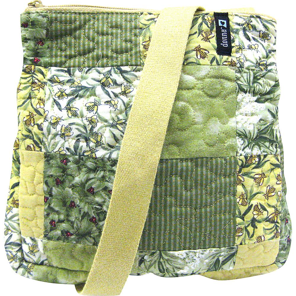 Donna Sharp Medium Lafayette Crossbody - Exclusive Botanical - Donna Sharp Fabric Handbags