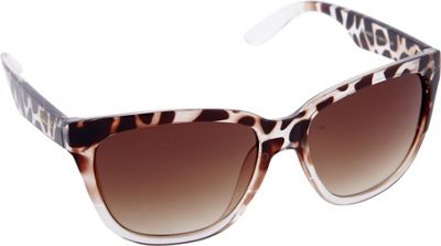 Nanette Nanette Lepore Sunglasses Rectangle Retro Sunglasses Animal Fade - Nanette Nanette Lepore Sunglasses Sunglasses