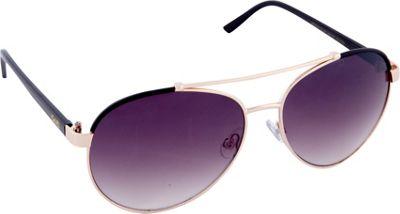 Nanette Nanette Lepore Sunglasses Combo Aviator Sunglasses Gold/Black - Nanette Nanette Lepore Sunglasses Sunglasses