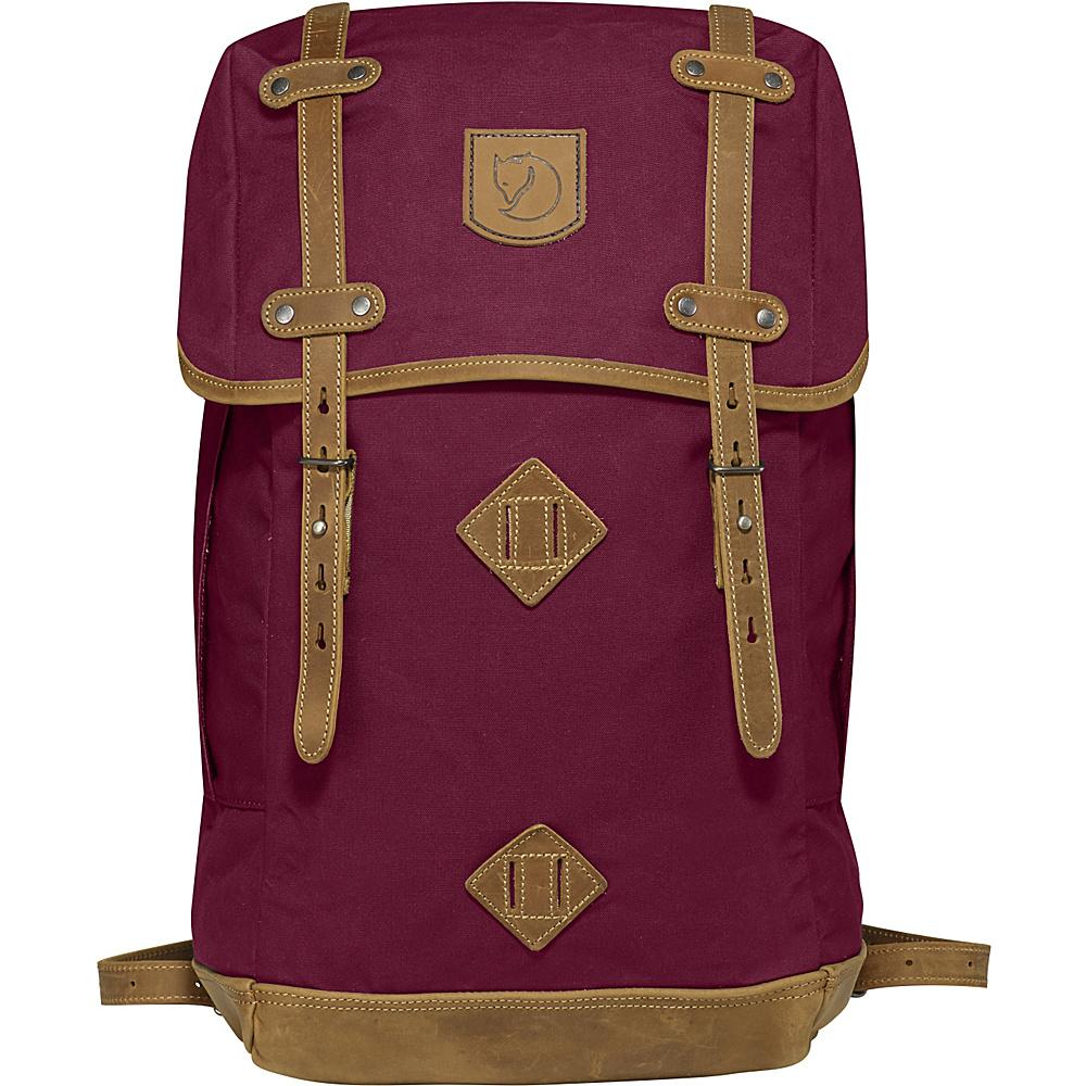 Fjallraven Rucksack No.21 Large Plum - Fjallraven Everyday Backpacks - Backpacks, Everyday Backpacks