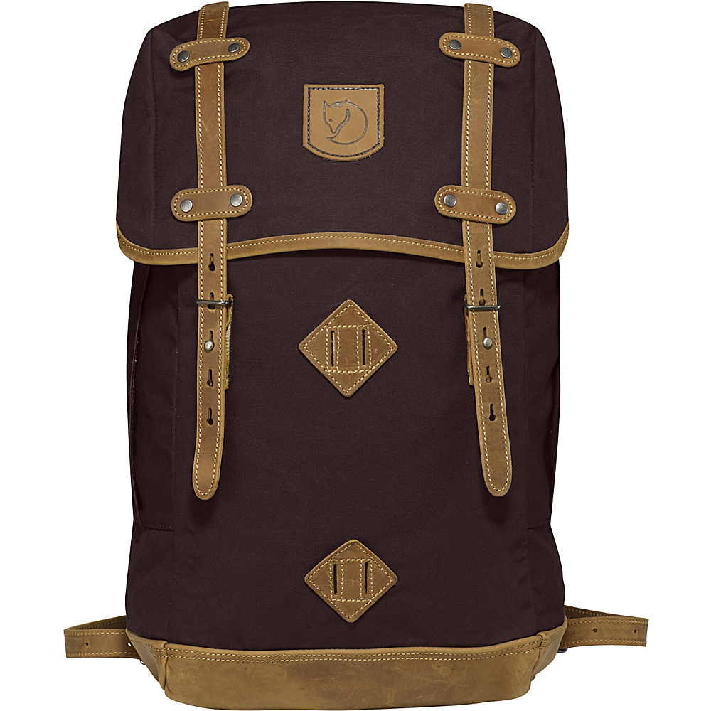 Fjallraven Rucksack No.21 Large Hickory Brown - Fjallraven Everyday Backpacks - Backpacks, Everyday Backpacks