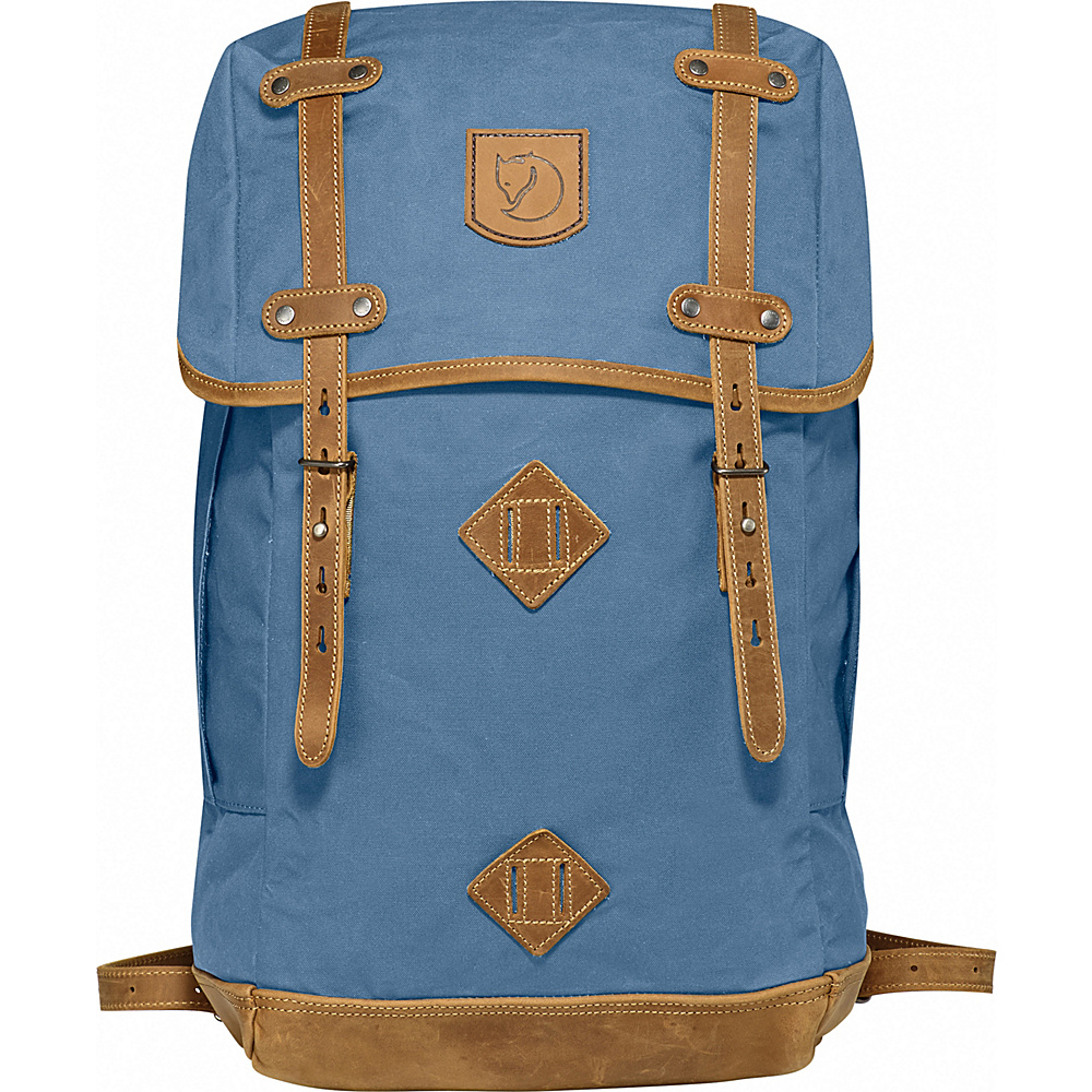 Fjallraven Rucksack No.21 Large Blue Ridge - Fjallraven Everyday Backpacks - Backpacks, Everyday Backpacks